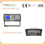 Высокая точность микро- метр сопротивления DC метра ома (AT516)
