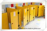 Divisão de divisão de banheiro pequena e pequena para crianças / partição HPL