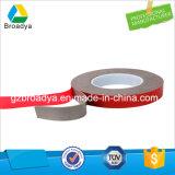 Le papier blanc 0.25mm de desserrage a dégrossi la bande acrylique transparente de mousse (BY3025C)