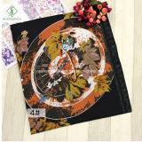 2017 Nouvelle conception Hijab musulman Fashion Lady Scarf with Flower Printed