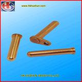 Pin de metal elétrico feito-à-medida do adaptador para o carregador (HS-BS-0084)