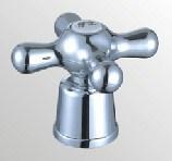 Accessoire de robinet en plastique d'ABS avec le fini de chrome (HW-002)