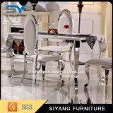 Moderne Esstisch Edelstahl Stuhl und Tisch