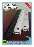 Support en acier fabriqué par estampage et pliage et revêtement en poudre