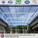 Edificio comercial del marco de acero con el suelo multi