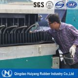 Transportation를 위한 물결 모양 Sidewall Rubber Conveyor Belt