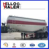 3개의 차축 도로 수송 세미트레일러 시멘트 트럭