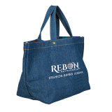 Sacchetto riutilizzabile del cotone/sacchetti di acquisto stampati sacchetto cotone della tela di canapa