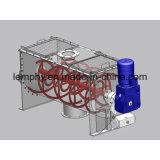 Mezclador horizontal de la cinta del tornillo doble para el polvo de mezcla