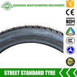 90/90-17 neumáticos de la motocicleta del descuento de la marca de fábrica de China de la bici de la calle para la venta