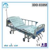 ABS Drei-Kurbel manuelles medizinisches Bett