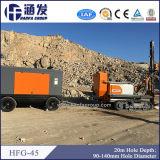 Hfg-45 буровое оборудование Crawler DTH роторное