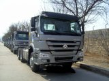 Caminhão de reboque do trator de HOWO 371HP para a venda com amortecedor elevado