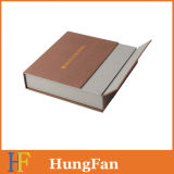 Qualitäts-heißer stempelnder Firmenzeichen-Verpackungs-Papier-Geschenk-Kasten