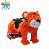 Zippy Stuffed Tiger Electric Riding Animal Toy Rides Voiture à vendre