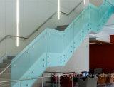 Railing полно Frameless заплаты приспосабливая Tempered стекла балюстрады/стеклянных с стандартом Австралии
