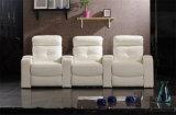 Mobília de couro do sofá de Italy do lazer (706)