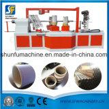 Nuevo tubo del papel de la condición que hace la máquina con el cortador de la base para hacer los tubos espirales de papel