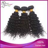 Extensões Kinky de trama do cabelo Curly de cabelo humano de Vigin