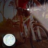防水Mountaiの自転車のアクセサリのプラスチックバイクの前部ライトLehtd USB再充電可能なLEDのバイクのテールライト