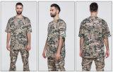 Chemises de circuit d'impression de sublimation de la fin d'été User-Résistant au T-shirt mince de camouflage