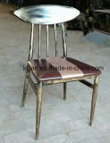 高い足銃の金属棒の椅子、木製棒Stool000