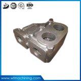 China Personalizar aluminio Cuerpo de la bomba de arena de fundición fundido de colada