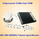 850 1900 4G 2600MHz Tri Band Handy Signal Repeater