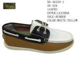 No 46559 3 ботинка вскользь ботинок цвета кожаный