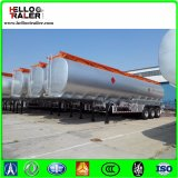 60000liters炭素鋼3の車軸重油のディーゼルタンク