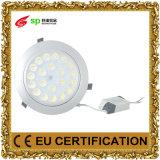 Lámparas AC86-265V de la iluminación de la luz de techo del LED