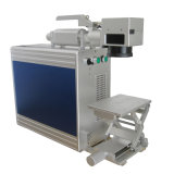 Машина маркировки лазера волокна 10W самого лучшего качества хозяйственная портативная для металла