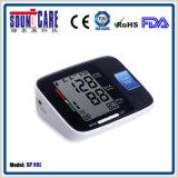 Moniteur électronique de pression sanguine de bras de Digitals (point d'ébullition 80L) avec le grand affichage à cristaux liquides