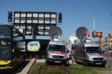 Schermo mobile del camion LED di alta qualità esterna P10