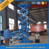Machine van de Lift van de Schaar van het Pakhuis van Ce de Hydraulische voor Lading