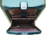 Valigia personalizzata fibra del carbonio (con il pacchetto laterale)