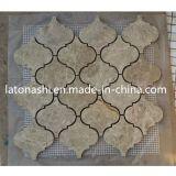 Baldosas cerámicas de mármol del suelo de mosaico