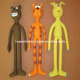 Hundelatex-Vinyllanges Fahrwerkbein-Spielzeug, Haustier-Spielzeug