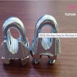 삭구 Hardware Galvanized DIN741 Malleable Steel Wire Rope Clip 또는 Clamp
