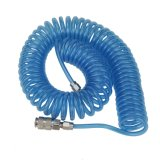 manguito de aire del retroceso de los 9m 8 por 5 milímetros de azul claro