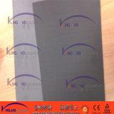 Hoja de papel gris gris o negra del batidor del asbesto de la junta