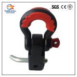 Supporto forgiato della ricevente del acciaio al carbonio con l'anello di trazione