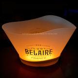 도매 Barware 재충전용 무선 12L LED 얼음 양동이
