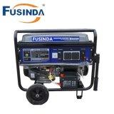 Generatore della benzina di alta qualità di M6500e 5kw con la monofase di CA, 220V ed il coperchio