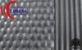 Esteira de borracha estável antienvelhecimento e resistente de superfície antiderrapante