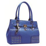 Form-Niet-und Verschluss-Entwurftote-Beutel, Handtaschen der Dame-PU