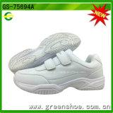 De nieuwe Zwart-witte Schoenen van het Badminton van het Schoeisel van het Tennis