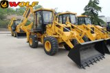 높은 Quality 74kw Four Wheel Drive Construction Backhoe Loader Wz30-25