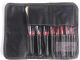 8PCS Red Cosmetic Makeup Brush Tool Kits con l'unità di elaborazione Bag