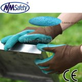 Nmsafety 13G Polyester Liner Coated Latex Labor Work Glove